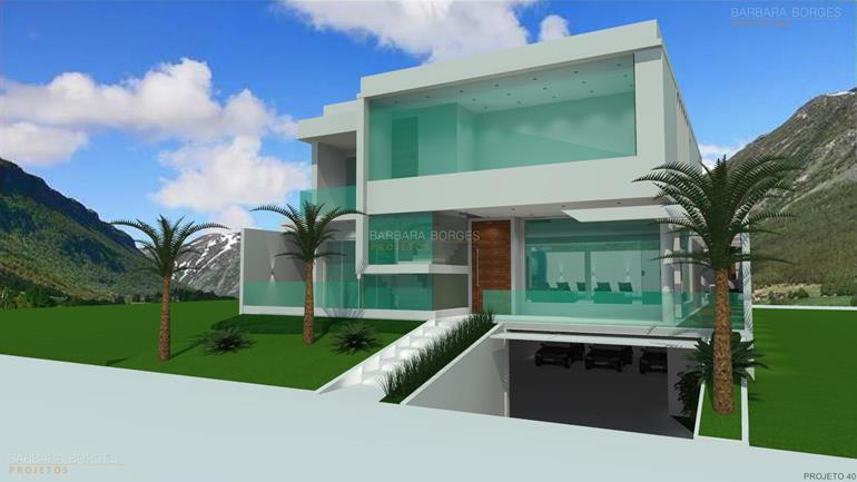 idéias de decoração projetos casas terrea