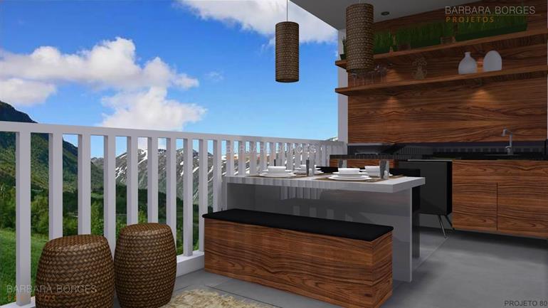 imagens de cozinhas decoradas projetos churrasqueiras