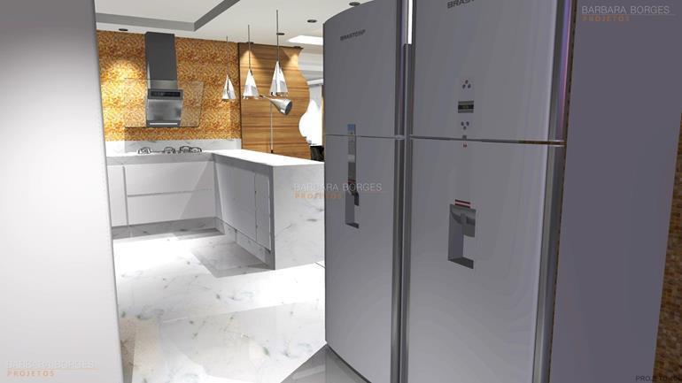 modelos churrasqueiras projetos cozinhas