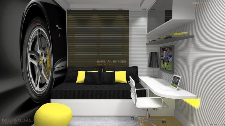 móveis planejados para apartamentos pequenos quarto bebe completo