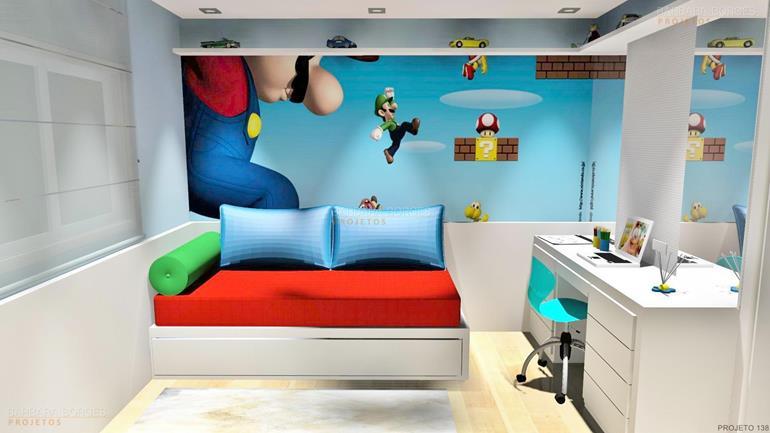 móveis planejados para apartamentos pequenos quarto bebe planejado