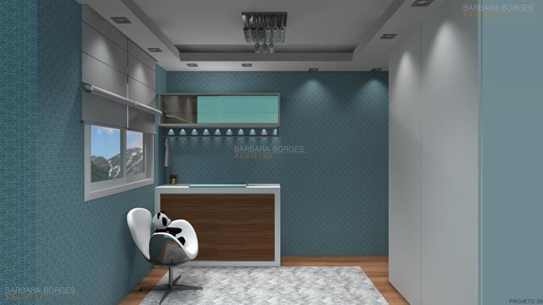 móveis planejados para apartamentos pequenos quarto casal decorado