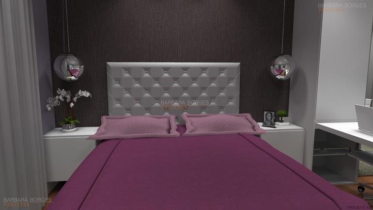 papel de parede para quarto menina quarto casal planejado