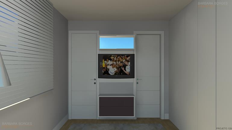 projeto de casa com 3 quartos quarto infantil planejado