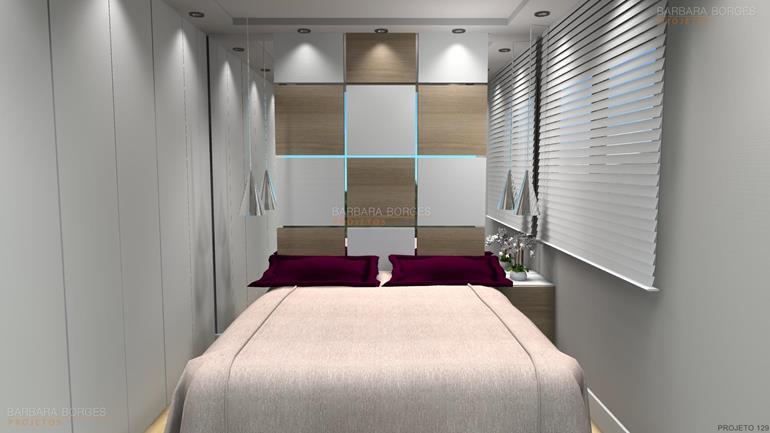 quarto apartamento pequeno quarto planejado