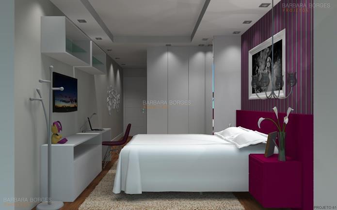 projeto apartamento quarto planejado solteiro
