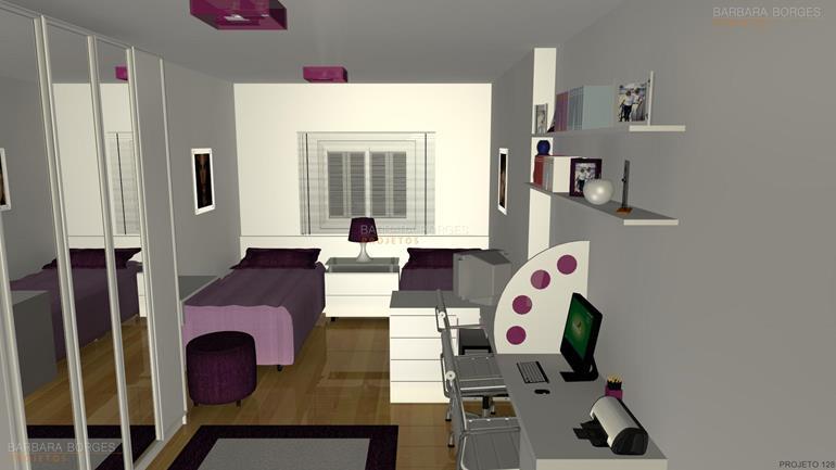 quarto decorado de menina quartos bebes