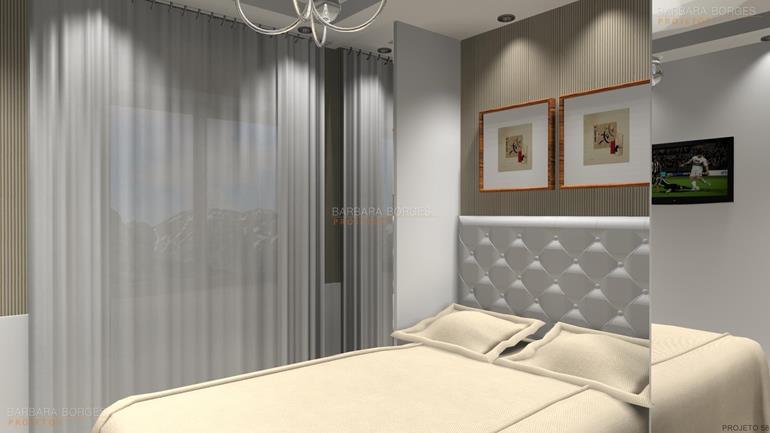 projetos de quarto de casal quartos casal