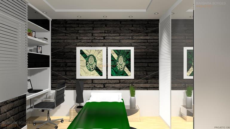 quarto de casal projetado quartos casal decorados