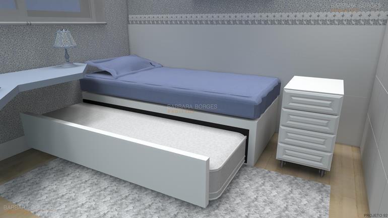 quartos casal modernos