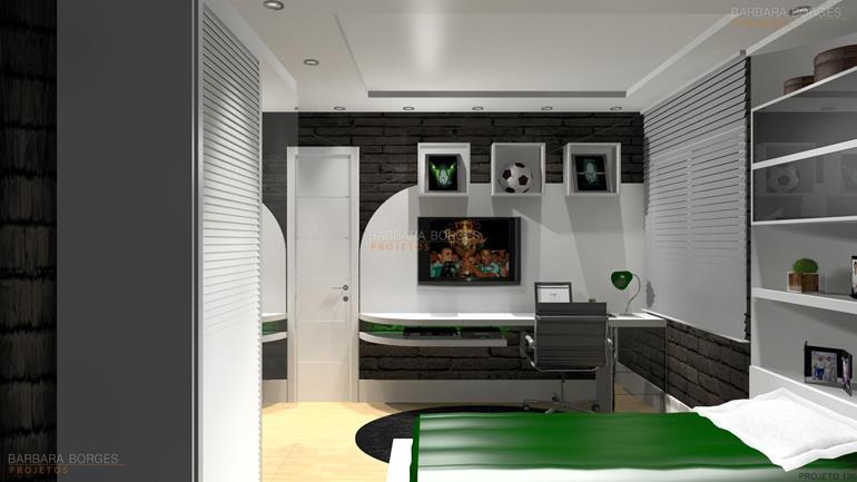 quarto de meninos decoração quartos casal planejados