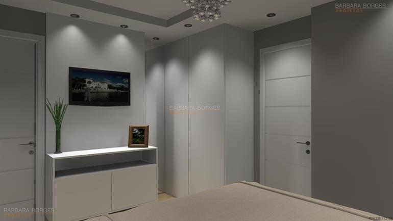 quarto de casal projetado quartos decoração interiores quartos