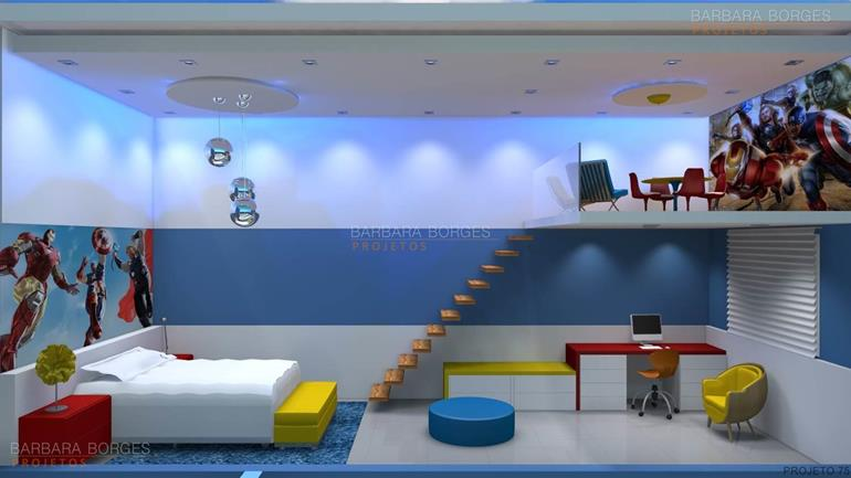 quarto de casal projetado quartos decorados jovens