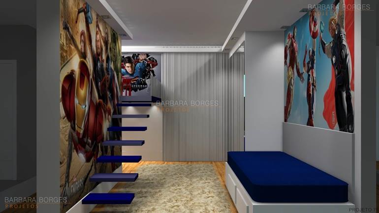 quarto menina e menino quartos modernos