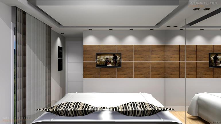 quartos de casal pequenos planejados quartos modernos