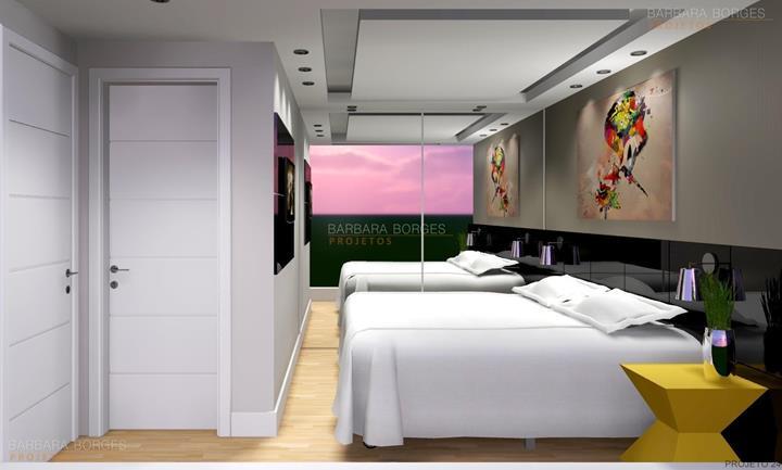 quartos para crianças quartos planejados casal