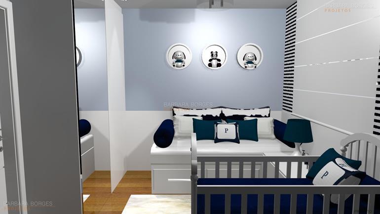 Quartos planejados solteiro barbara borges projetos for Simulador interiores 3d