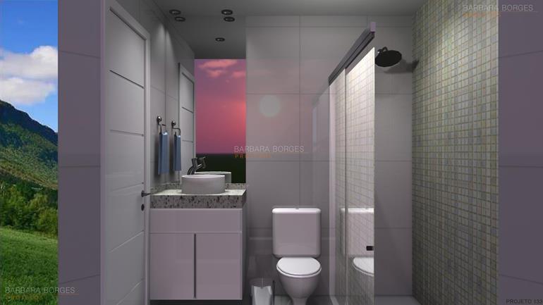 tapetes quarto reforma banheiro