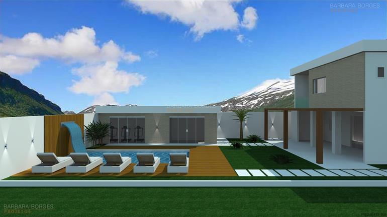 projetos de fachadas de casas reforma construção