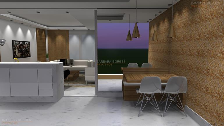 sala de jantar de luxo reforma cozinha