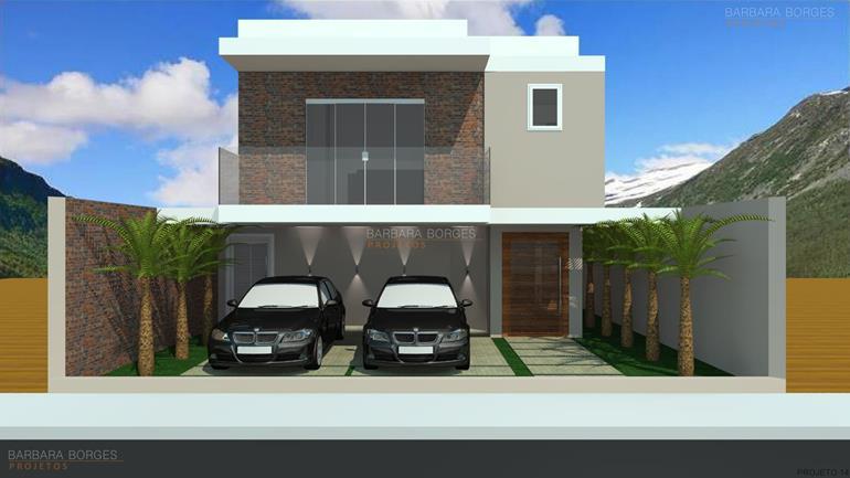 projetos de fachadas de casas reformar casa