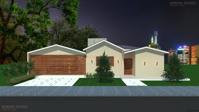 projetos de fachadas de casas reformas residenciais