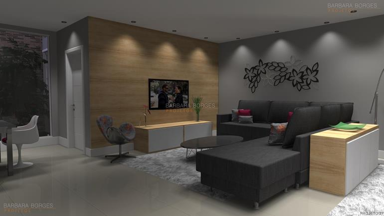 projetos de casas 3d sala decoração