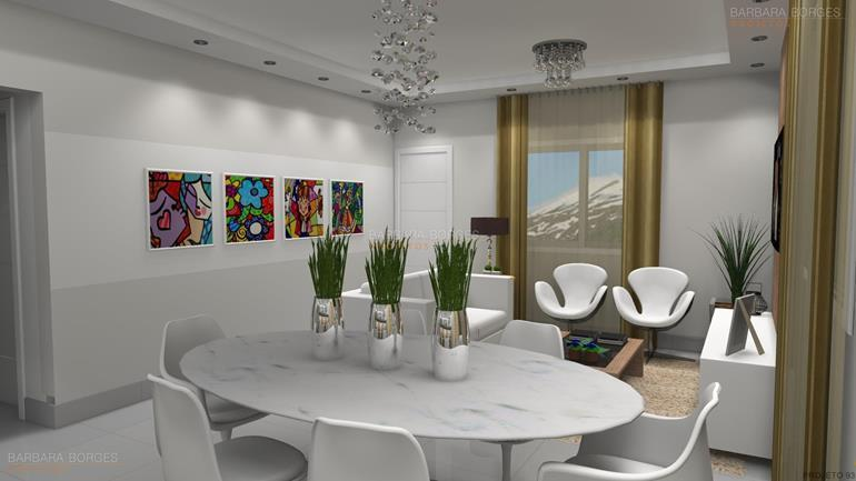 area serviço sala decoração