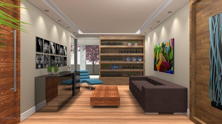 varanda gourmet projetos sala decorada
