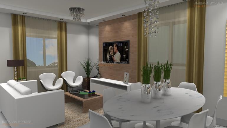 áreas externas de casas sala decorada