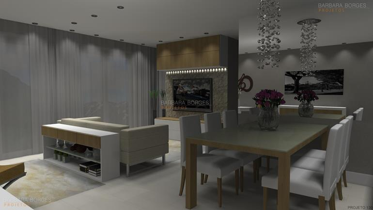 area de serviço planejada pequena sala estar jantar