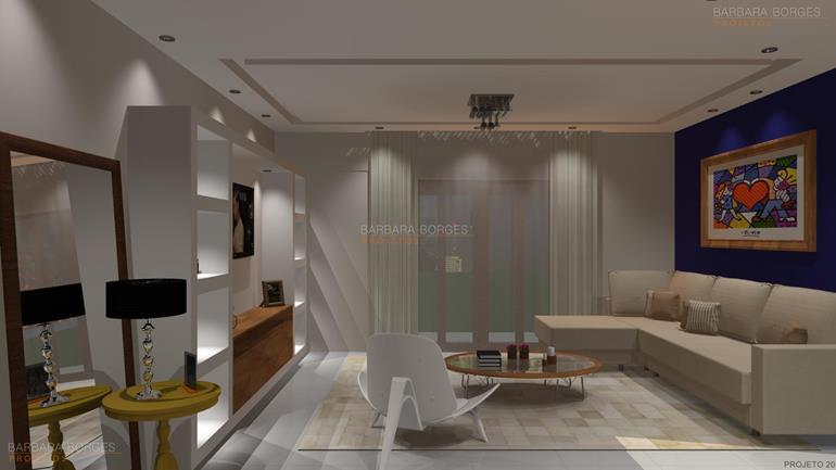 area de serviço planejada pequena sala intima
