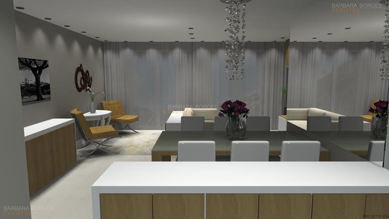áreas externas de casas sala intima