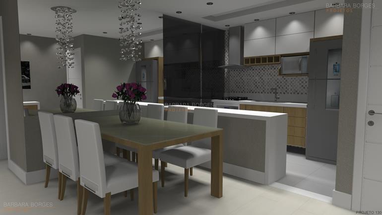 armario de cozinhas sala jantar completa