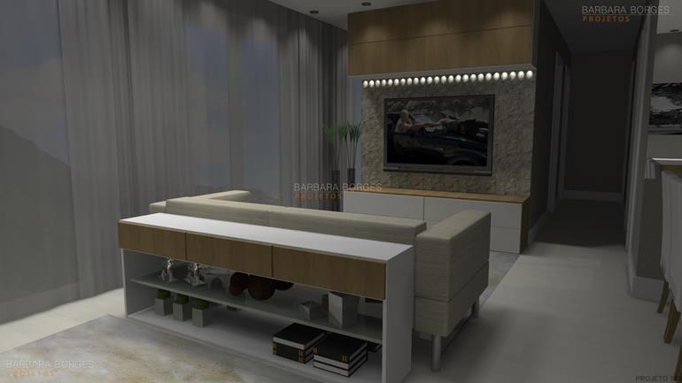 armario para banheiro planejado sala jantar espelho
