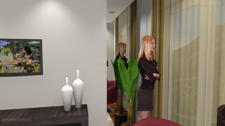 banheiros e lavabos sala jantar espelho