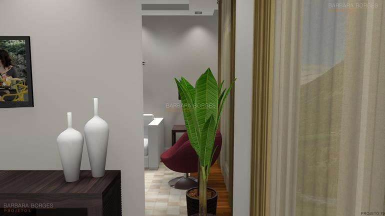 beliches planejados sala jantar moderna