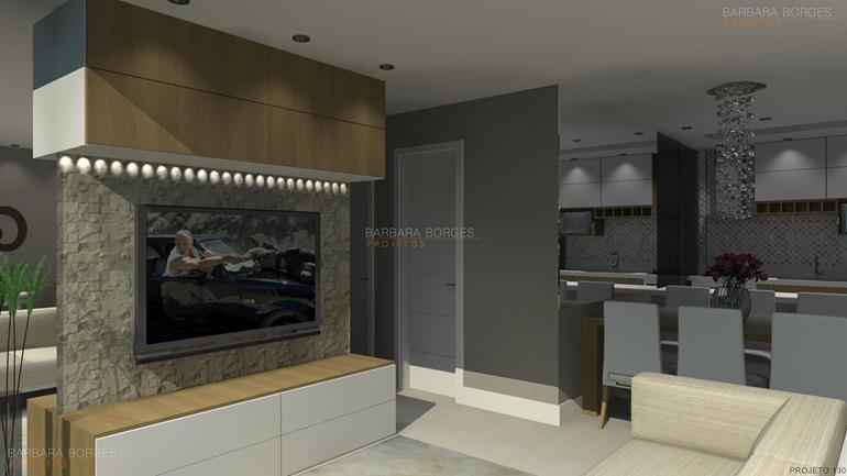 armarios area de serviço sala jantar pequena