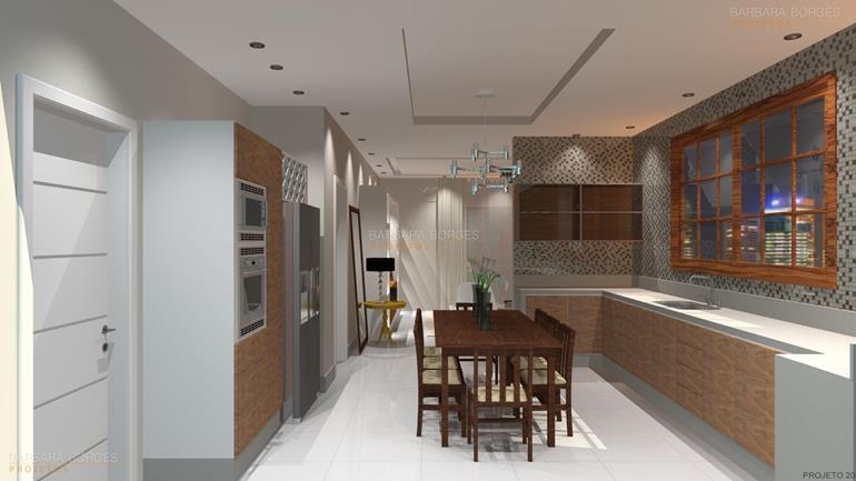 arquitetura e decoração de interiores salas estar jantar
