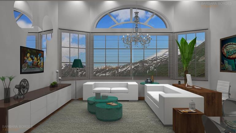 beliches planejados salas jantar modernas