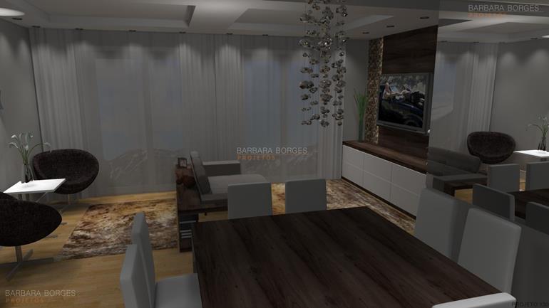 buffet sala jantar salas jantar modernas