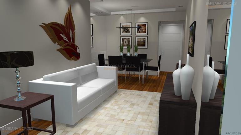 casas interiores salas jantar modernas