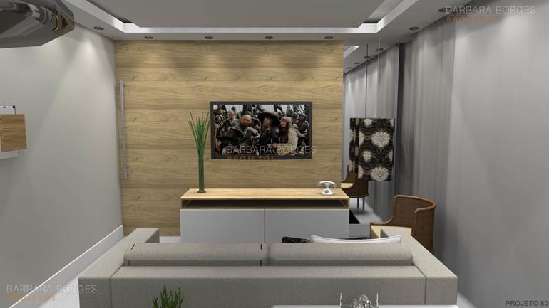 salas tv decoradas