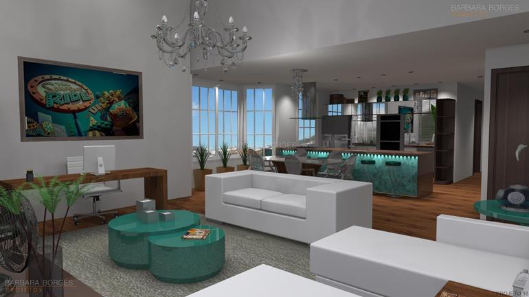 cadeiras de sala de estar salas tv decoradas