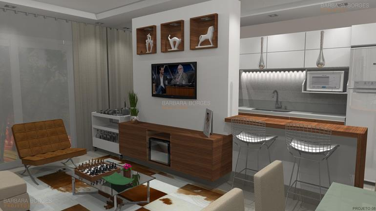 casas e decoração salas tv decoradas