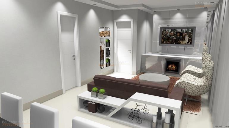 Salas tv decoradas barbara borges projetos for Decorar casas online 3d