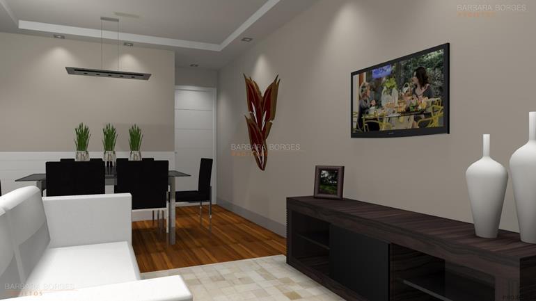 como decorar quarto pequeno de casal salas tv decoradas