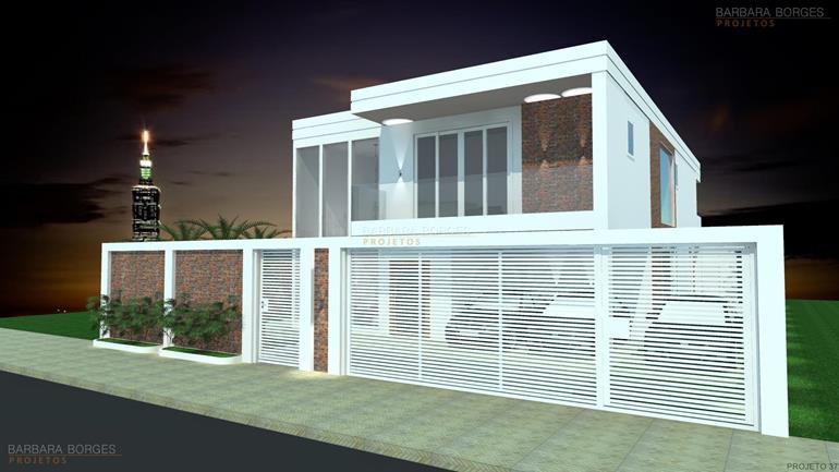 curso de decoração de ambientes sobrado fachada moderna