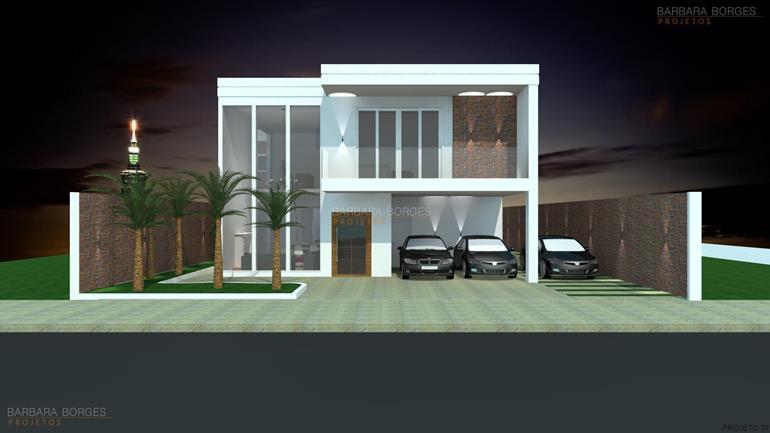 Sobrado mezanino pe direito duplo barbara borges projetos for Fachadas para apartamentos pequenos