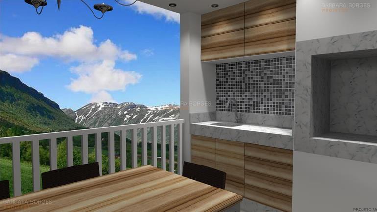 decoração de varandas de apartamento terrea varanda gourmet pergolado